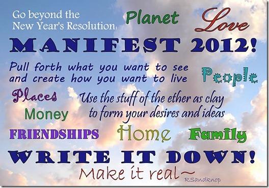 manifest 2012