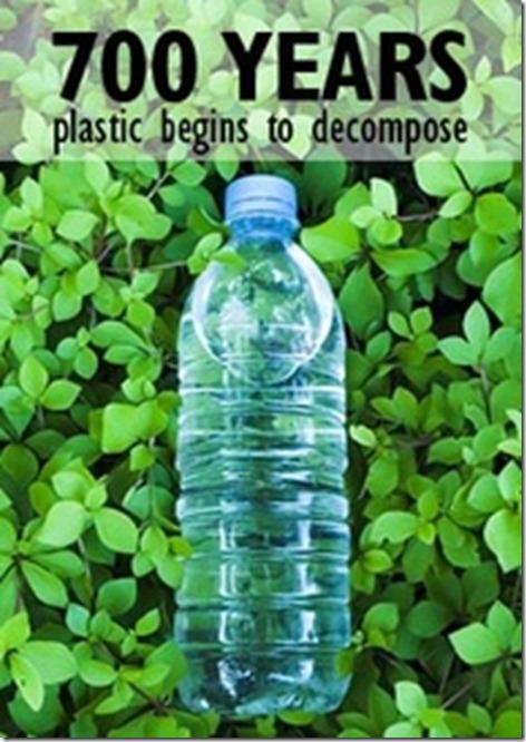 plastic-700 years