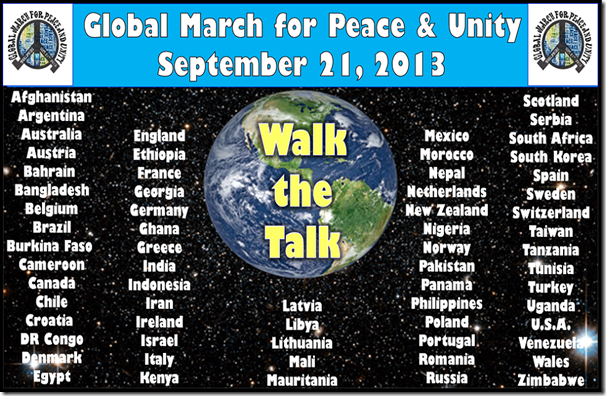 global unity-walk the talk