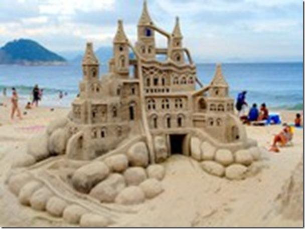 sand castle-huge