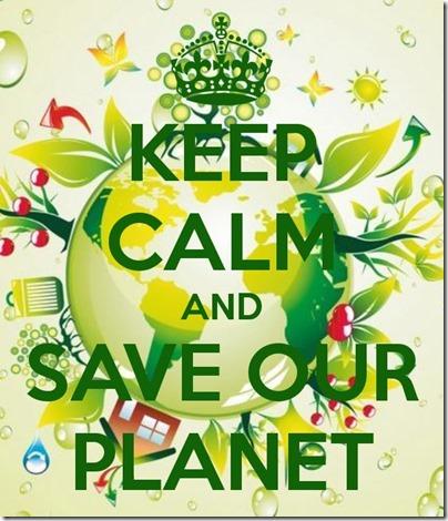 calm-save planet