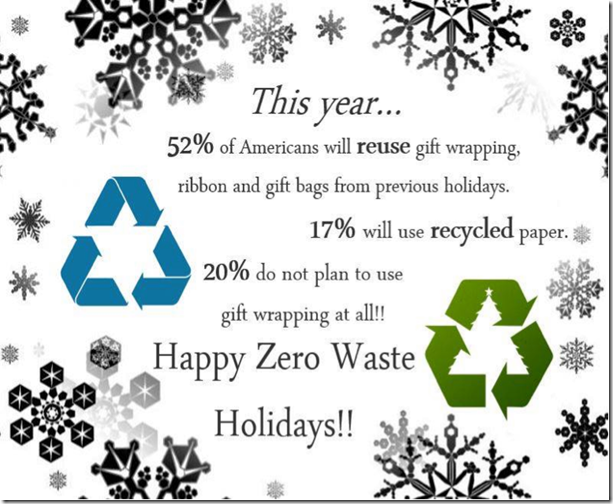 holidays-zero waste